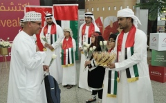 Photo: Sharjah Airport celebrates Oman's National Day