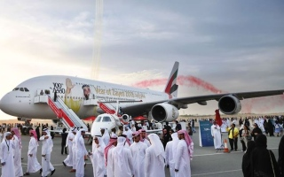 Photo: Over 11,000 people visit Emirates A380 at Bahrain Airshow