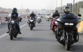 Photo: SSC organises march of Shis Motorcycling Ride