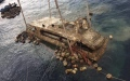 Photo: Thai officials recover boat that sank, killing 47 Chinese