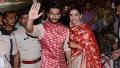 Photo: Newlyweds Ranveer and Deepika return to Mumbai