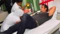 Photo: Salman Khan injured; returns home