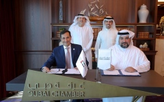 Photo: Dubai Chamber and Etihad Credit Insurance partner to enhance trade competitiveness