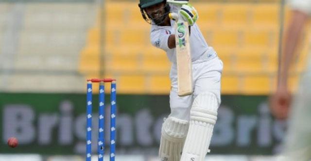 Shafiq chalks up 4,000 runs as Pakistan eyes victory