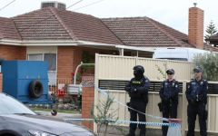 Photo: 3 men charged with planning mass killing in Australian city