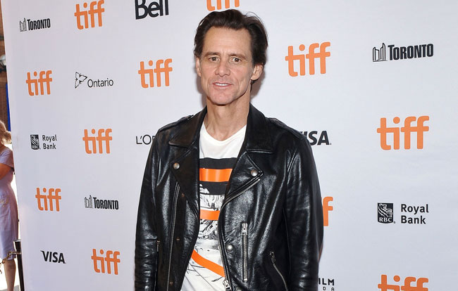 Photo: Jim Carrey's isolated life