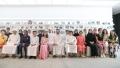 Photo: Hamdan bin Mohammed meets students of Dubai schools
