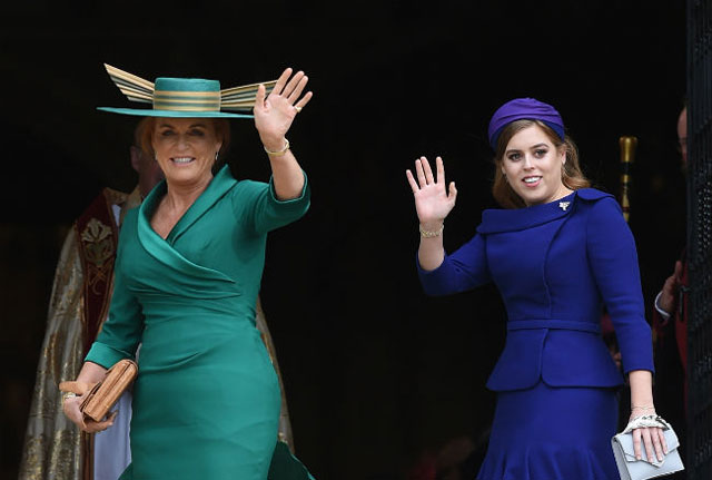 Queen Elizabeth invited Sarah Ferguson to Harry and Meghan's wedding
