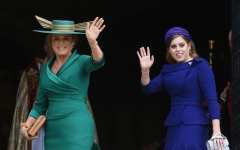 Photo: Queen Elizabeth invited Sarah Ferguson to Harry and Meghan's wedding
