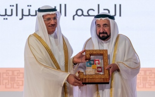 Photo: Sultan Al Qasimi attends UAE Economic Planning Forum