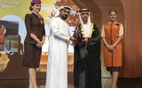 Photo: Etihad Airways wins Fatima bint Mubarak Award for its 'Flying Nannies' programme