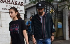 Photo: Ranbir and Alia visit the doctor!