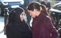 Photo: Duchess Meghan was reunited with Grenfell charity cookbook women