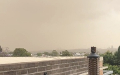 Photo: Drought-fueled dust storm blankets Sydney
