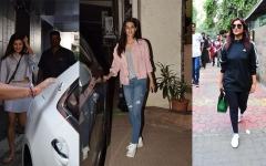 Photo: Spotted: Parineeti Chopra, Jacqueline Fernandez, Kriti Sanon...