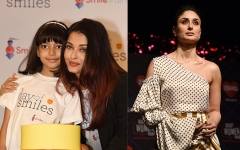 Photo: Kareena Kapoor attends launch of new radio show; Aishwarya, Aaradhya at event in honour of late father