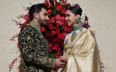 Photo: Deepika Padukone and Ranveer Singh wedding reception in Bangalore