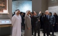Photo: Mohamed bin Zayed visits Sheikh Zayed Centre at The Louvre Museum in Paris