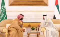 Photo: Mohamed bin Zayed, Mohammed bin Salman discuss brotherly relations, regional developments