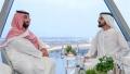 Photo: Mohammed bin Rashid receives Prince Mohammed bin Salman