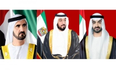 Photo: UAE leaders receive congratulations from world leaders on 47th National Day