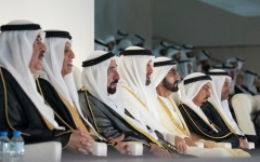Photo: UAE leaders attend 47th National Day celebration in Abu Dhabi