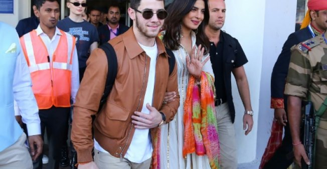Priyanka Chopra and Nick Jonas's mehendi celebrations are a riot of colours