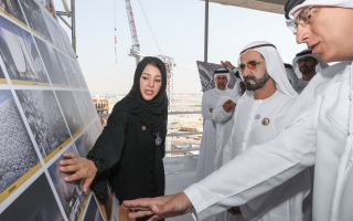 Photo: Mohammed bin Rashid affirms the importance of placing youth at the forefront of Expo 2020's mission
