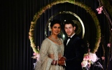 Photo: Nick Jonas and Priyanka Chopra celebrate wedding reception in Delhi