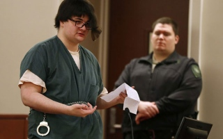 Photo: Teen who killed parents sentenced to 40 years