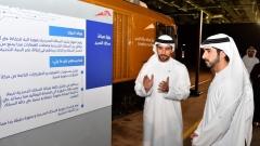 Photo: Dubai Crown Prince inspects RTA's autonomous mobility, AI projects