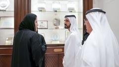 Photo: UAE VP visits General Women's Union headquarters