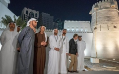 Photo: Mohamed bin Zayed inaugurates historical Qasr Al Hosn site