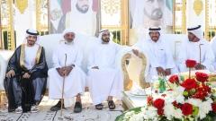Photo: Mohammed bin Rashid attends Al Falasi, Al Ketbi wedding