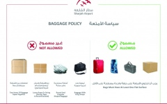Photo: Sharjah Airport to implement new rules to facilitate baggage delivery