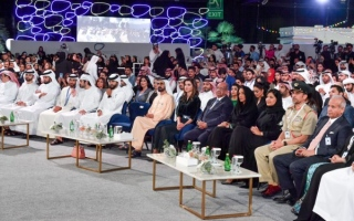 Photo: Mohammed bin Rashid attends main session of 3rd Arab Social Media Influencers Summit
