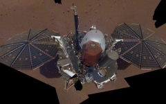 Photo: NASA's Mars lander takes selfie from above with robotic arm