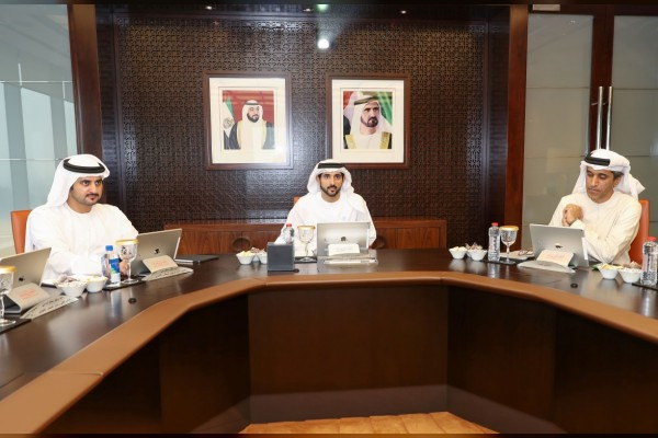Photo: Hamdan bin Mohammed chairs Dubai Executive Council Meeting