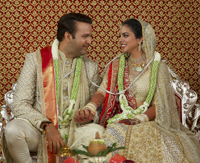 Isha Ambani ties the knot with Anand Piramal in Mumbai