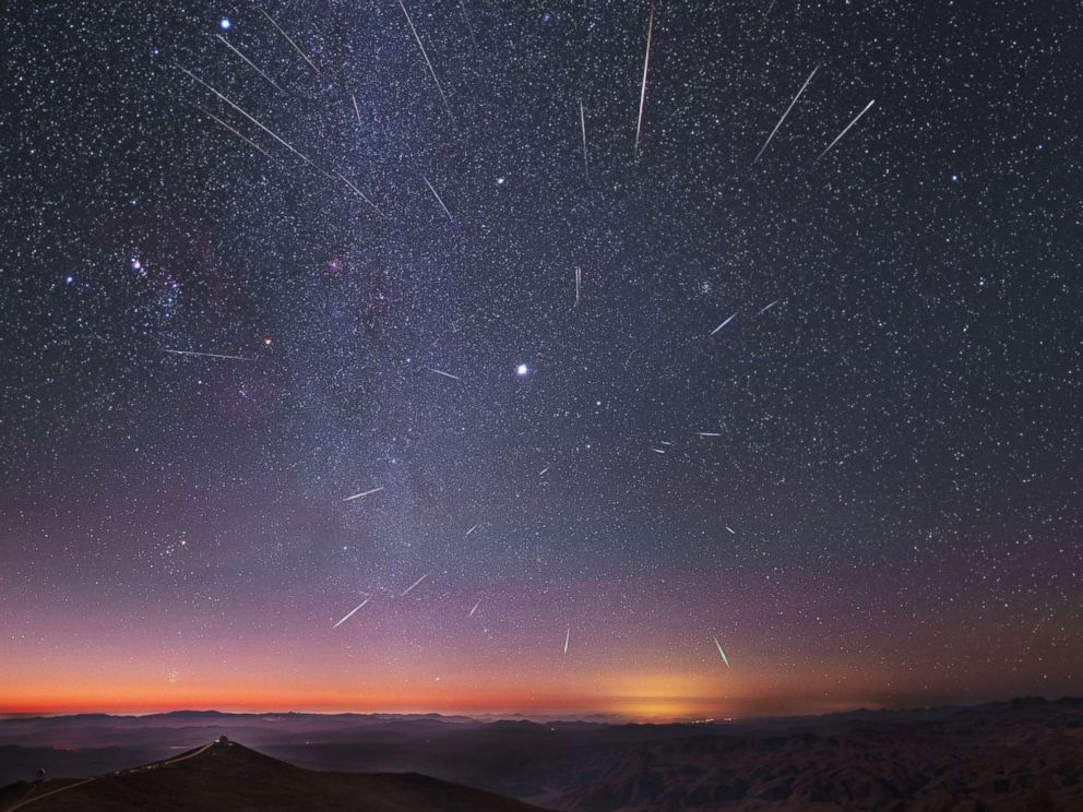 Photo: Meteor shower visible on Friday: International Astronomical Centre