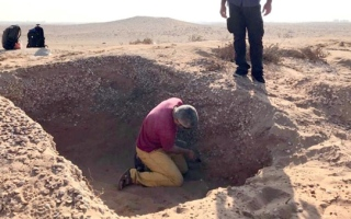 Photo: French archaeological mission discovers artefacts in UAQ