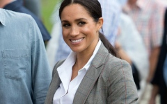 Photo: Serena Williams sends Duchess Meghan bespoke clothes
