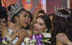 Photo: Beauty queen from slum is crowned Miss Venezuela