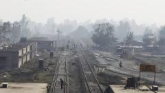 Photo: Himalayan nation Nepal gets first modern train tracks
