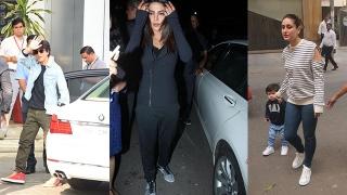 Photo: Spotted: Priyanka Chopra, Kareena Kapoor and Taimur Ali Khan