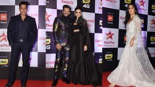 Photo: Star Screen Awards 2018: Jacqueline Fernandez, Deepika Padukone, Katrina Kaif...