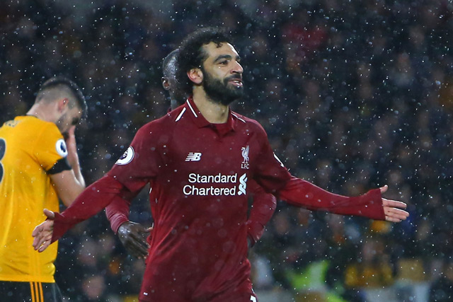 Mohamed Salah stars as Liverpool secure top spot at Christmas