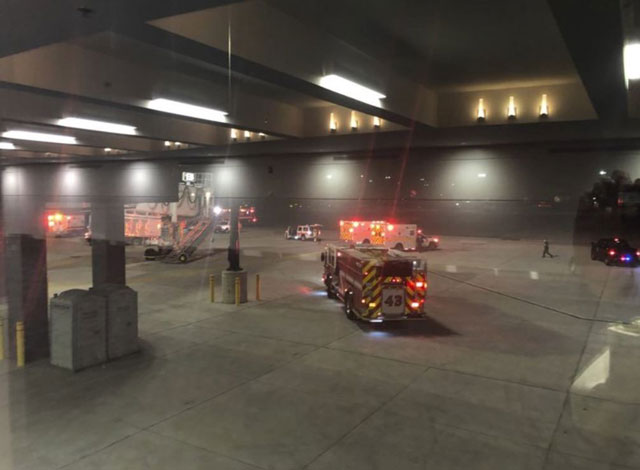 At least 6 people injured after jet bridge collapses at Baltimore airport
