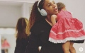 Photo: Serena Williams: My two-year-old dresses me