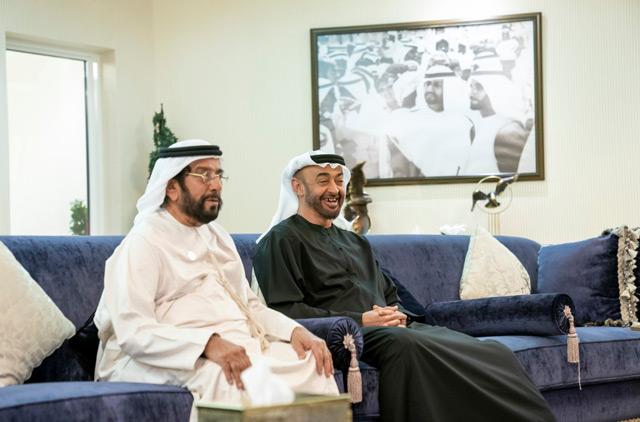 Mohamed Bin Zayed Visits Tahnoun Bin Mohammed News Government Emirates24 7